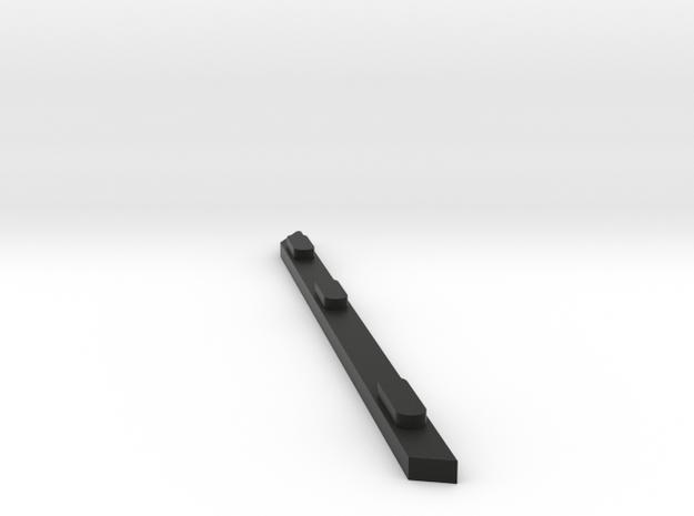 Ray 9 in Black Natural Versatile Plastic