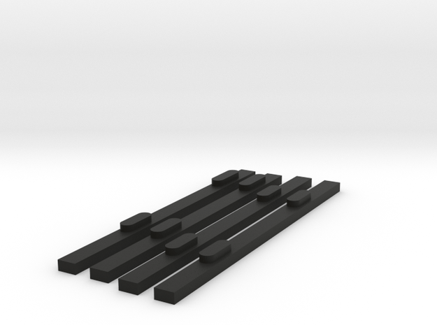 Ray6-8 in Black Natural Versatile Plastic