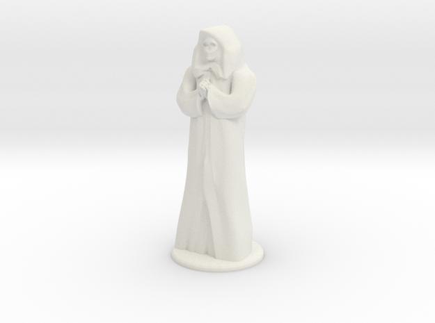 Anubus - 20 mm in White Natural Versatile Plastic