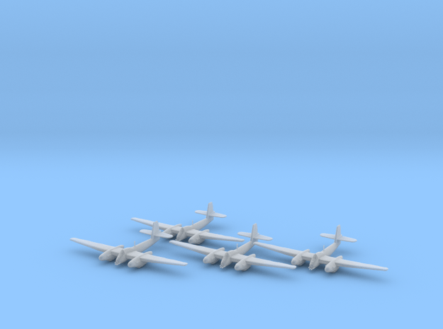 Westland Welkin without bombs 1:200 x4 FUD in Smooth Fine Detail Plastic