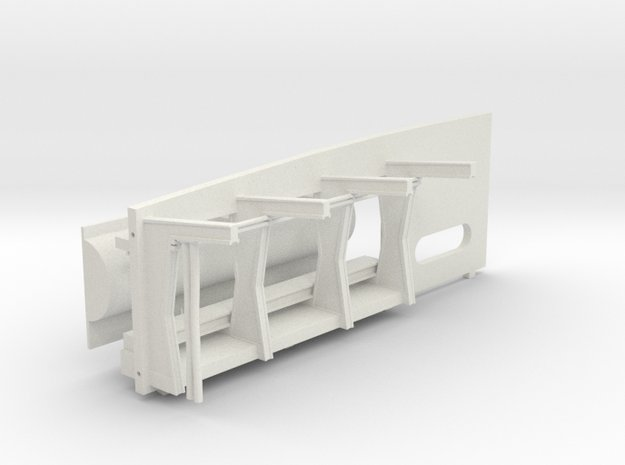 ANH Front Wall Replacement for DeAgo Falcon in White Natural Versatile Plastic