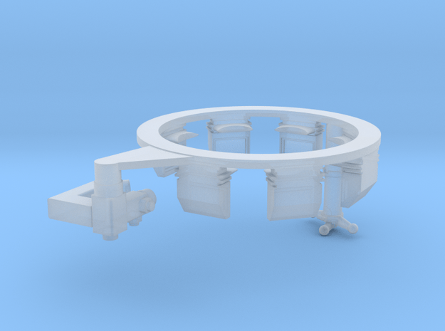 TC Interior ring for Leo1A5 with TRP and EMES 18 in Smoothest Fine Detail Plastic