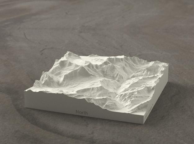 4''/10cm Oberland Peaks, Switzerland, Sandstone in Natural Sandstone