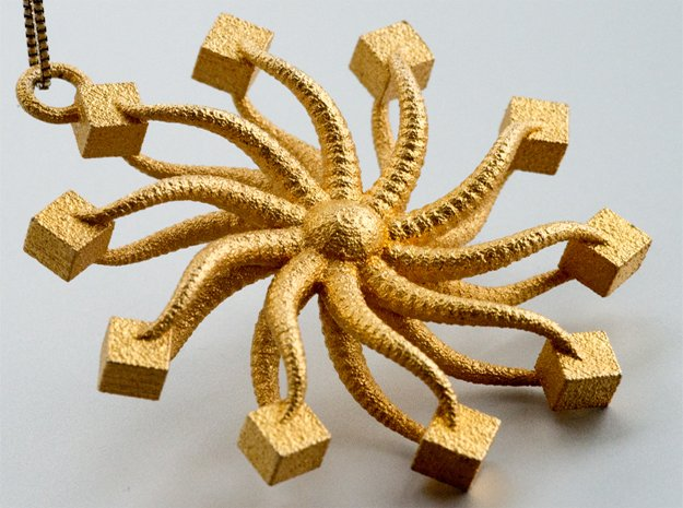Starfish II in Natural Bronze
