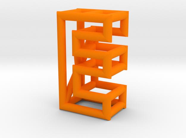E in Orange Processed Versatile Plastic