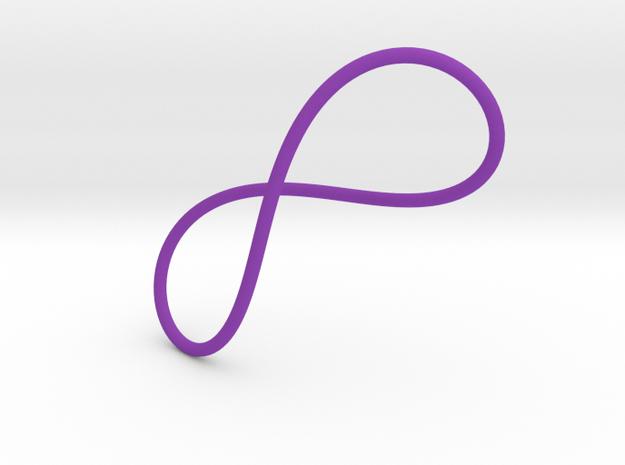 INFINITE Large in Purple Processed Versatile Plastic