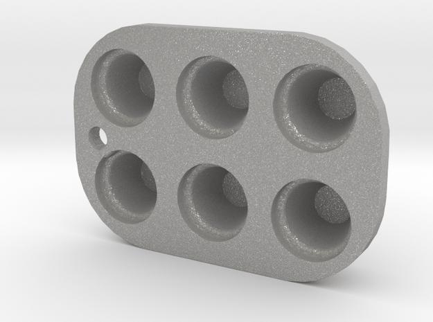 CUPCAKE TIN  in Aluminum
