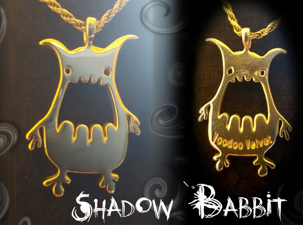 Shadow Babbit in Polished Silver