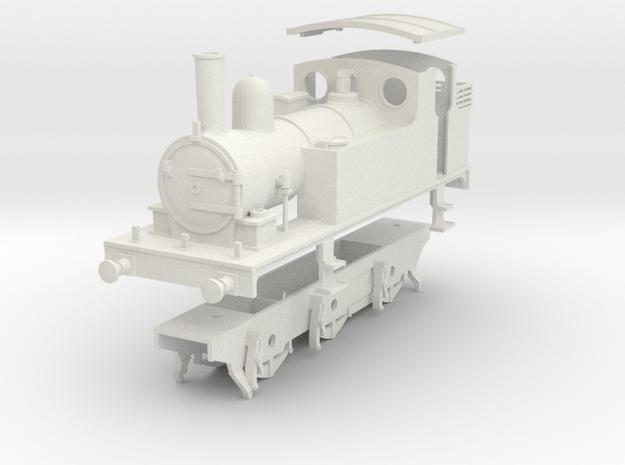 0 Gauge kit for LNER J65 class in White Natural Versatile Plastic