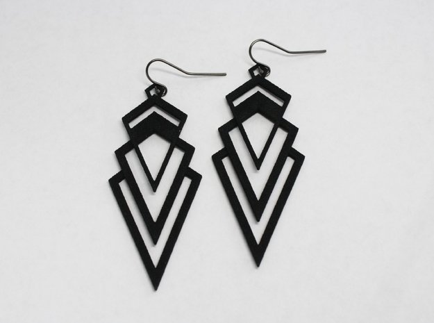 Art Deco Earrings - Valorous