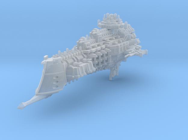 Dominion class battlecruiser in Smooth Fine Detail Plastic