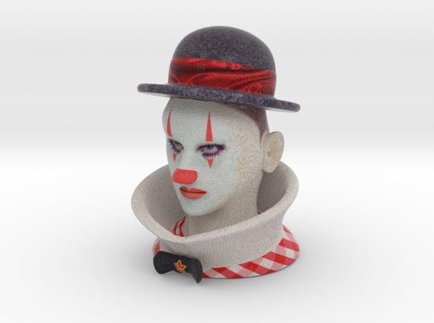 Weimar Clown 1929 - Color in Full Color Sandstone