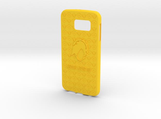 Mercy Galaxy S6 in Yellow Processed Versatile Plastic
