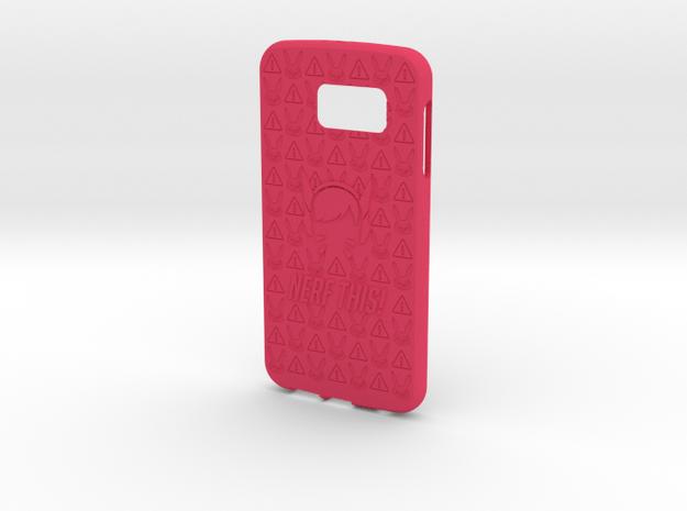 Dva Galaxy S6 in Pink Processed Versatile Plastic
