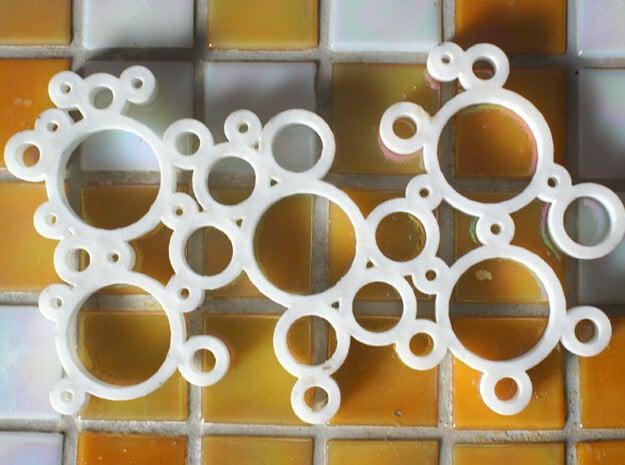 Bubble Seifenschale in White Natural Versatile Plastic