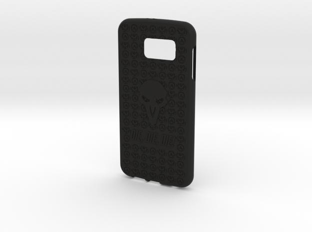 Reaper Galaxy S6 in Black Natural Versatile Plastic