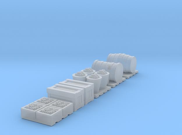 TT Scale 1:120 Cargo Accessories in Smooth Fine Detail Plastic