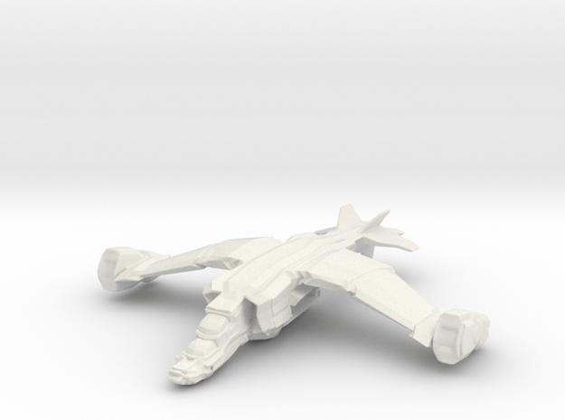 Grendel Transport, 6mm in White Natural Versatile Plastic