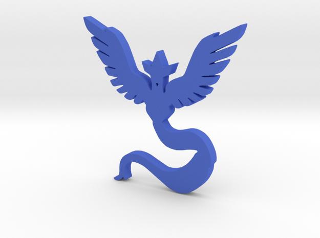 Team Mystic - Pokemon Go in Blue Processed Versatile Plastic