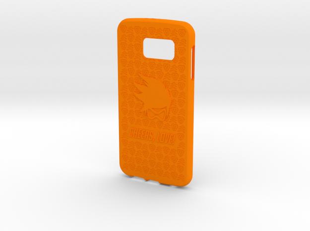 Tracer Galaxy S6 in Orange Processed Versatile Plastic