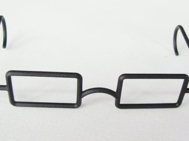 """Mrs. Beasley Glasses for 21"""" Doll in Black Natural Versatile Plastic"""