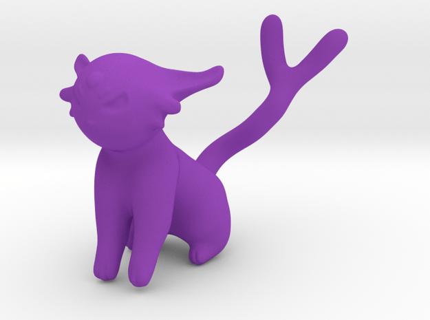 Espeon in Purple Processed Versatile Plastic