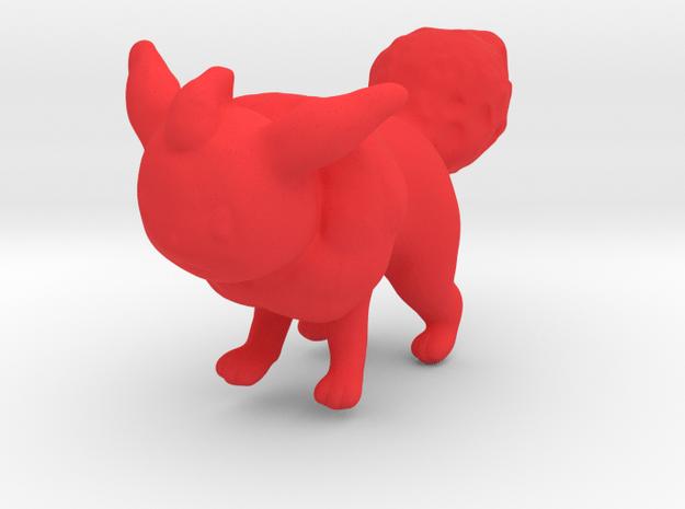 Flareon in Red Processed Versatile Plastic