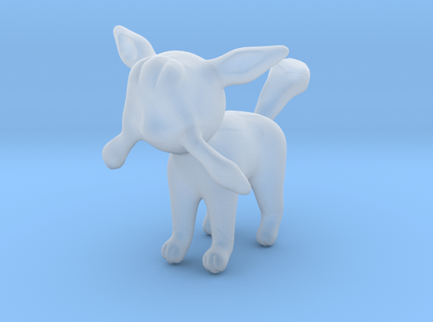 Glaceon in Smooth Fine Detail Plastic