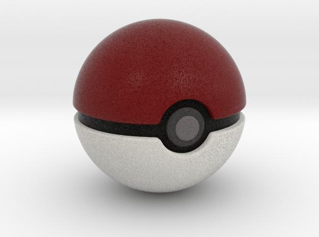 Pokemon - Pokeball in Full Color Sandstone