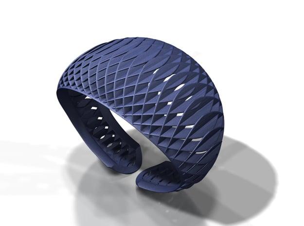 Armband-dubbelbol in Black Natural Versatile Plastic: Medium