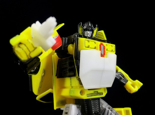 CW : Sunning kit for Sunstreaker in Yellow Processed Versatile Plastic