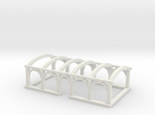 NBiK Tw. 25 Dachaufbau (roof) in White Natural Versatile Plastic