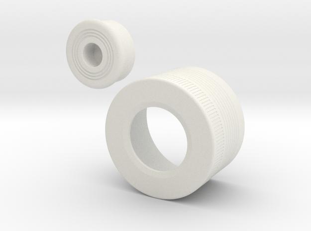 MPP Vader ANH Endcap in White Natural Versatile Plastic