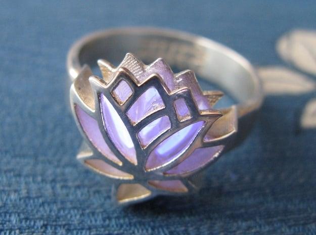 US9 Ring XXV: Tritium (Silver)