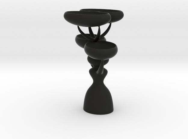 Minimal Candle in Black Natural Versatile Plastic