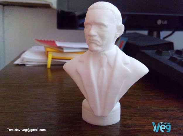 Obama Not Bad meme in White Natural Versatile Plastic