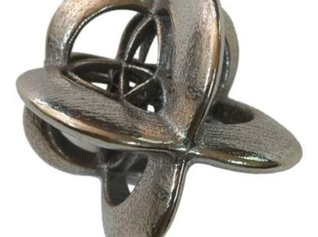 Octaplex III, medium in White Natural Versatile Plastic