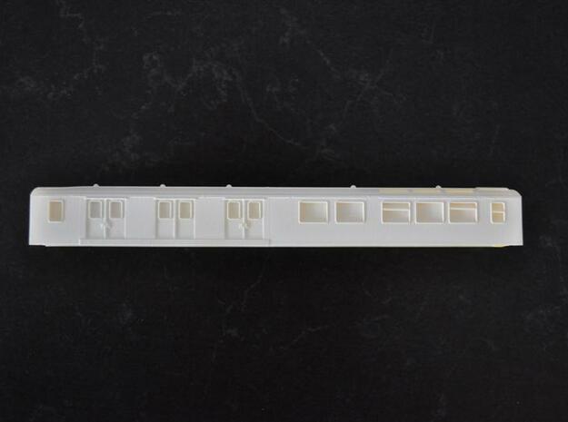 Fietsenrijtuig Df van de NS in schaal N in Smooth Fine Detail Plastic