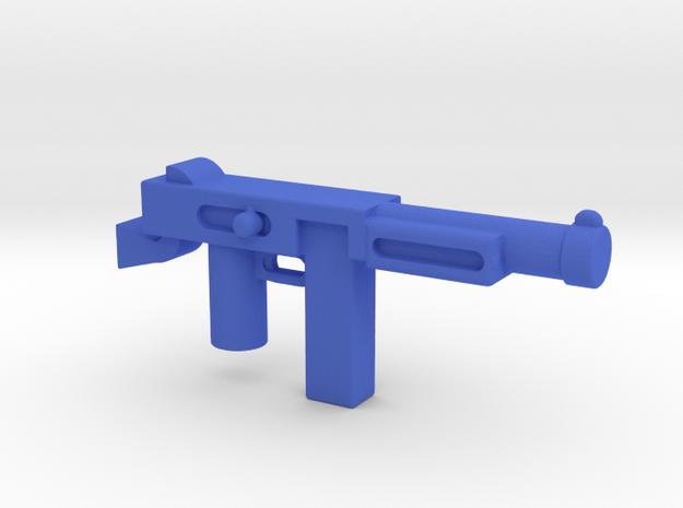 Thompson Gun in Blue Processed Versatile Plastic