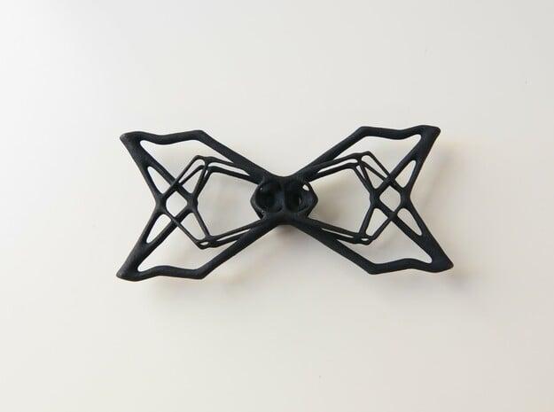 Bow Tie  in Black Natural Versatile Plastic