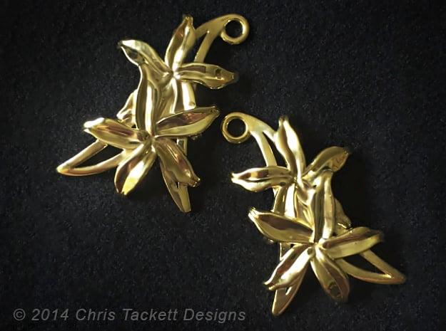 Sampaguita Earrings in 14K Yellow Gold