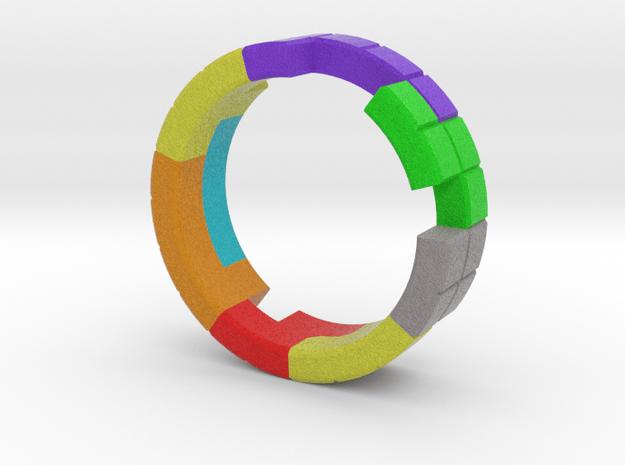 Tetris Ring Size 8.5 in Full Color Sandstone