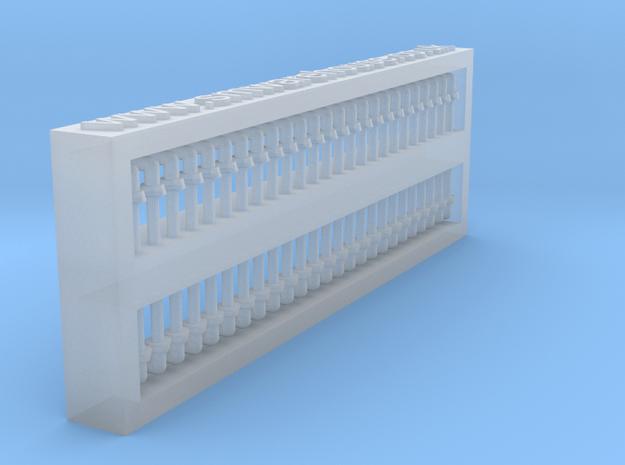 Door handle 1:87 ( H0) scale , 50 pcs set in Smooth Fine Detail Plastic