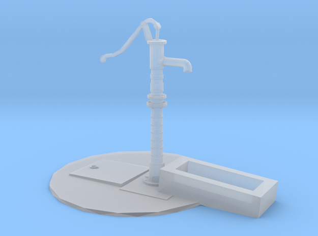 Street pump type: A 1:48( 0 ) scale 1 Pcs in Smooth Fine Detail Plastic