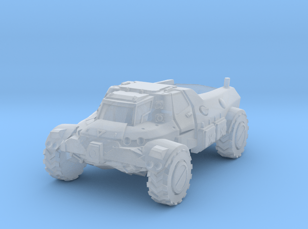 Utility Truck in Smooth Fine Detail Plastic