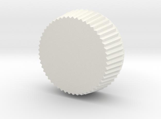 Super cute cupcake herb grinder - Part 3 in White Natural Versatile Plastic