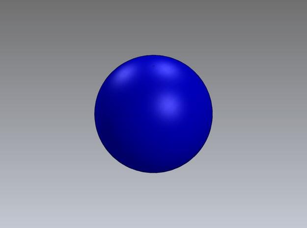 1in Bouy-ball in White Natural Versatile Plastic