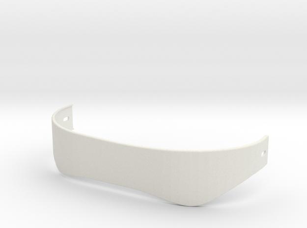 Boba Fett Back Belt in White Natural Versatile Plastic