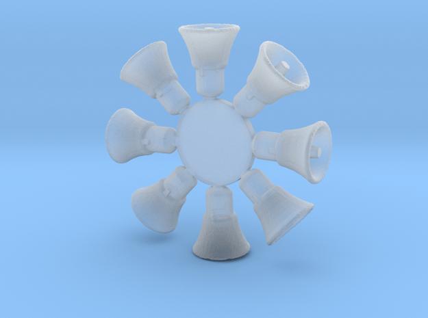 H0-201 Lautsprecher in Smoothest Fine Detail Plastic