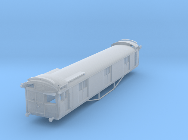 TP2 VR Tait Parcels Van (4-5CM) in Smooth Fine Detail Plastic
